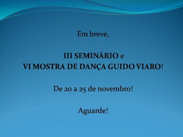 Mostra Dança Guido viaro