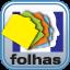 icone folhas