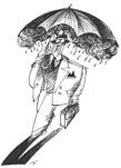 "Cartum "" Chove, Chuva"" de Miran"