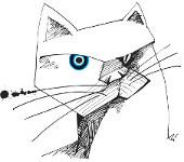 """Cartum """" O retrato do meu gato!"""" de Miran"""