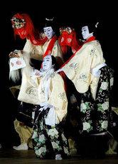 Foto do teatro Kabuki