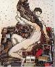 A Obra é uma citação da pintura &quot;Ícaro&quot; do artista também barroco Tiziano. A produção de Vick Muniz discute a fotografia como meio de representação a partir do registro de materiais inusitados como chocolate, açúcar, poeira, lixo, arame, fios de algodão e papel picado, pimenta, entre outros, criando desse modo, um diálogo com a história da arte.<br /> <br /> Palavras-chave: Vick Muniz, fotografia, releitura, arte contemporânea.