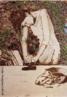 """A Obra é uma citação à pintura """" a Passadeira"""" do período azul de Picasso, que retratou dançarinos, atores circenses, trabalhadores braçais como as pessoas fatigadas, exploradas e economicamente desfavorecidas que eram. A obra de Vick Muniz discute a fotografia como meio de representação a partir do registro de materiais inusitados como chocolate, açúcar, poeira, lixo, arame, fios de algodão e papel picado, pimenta, entre outros, criando desse modo, um diálogo com a história da arte.<br /> <br /> Palavras-chave: Vick Muniz, fotografia, releitura, arte contemporânea."""