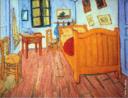 Vincent van Gogh (Zundert, 30 de Março de 1853 — Auvers-sur-Oise, 29 de Julho de 1890). Pintor holandês, considerado o maior de todos os tempos desde Rembrandt, apesar de durante a sua vida ter sido marginalizado pela sociedade.<br /> <br /> Palavras-chave: Vincent Van Gogh, quarto, pintor holandês.