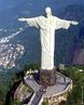 O Cristo Redentor é uma estátua de Jesus Cristo localizada na cidade do Rio de Janeiro, Brasil. Está localizada no topo do morro do Corcovado, a 709 metros acima do nível do mar. De seus 38 metros, oito estão no pedestal. Foi inaugurado às 19:15 do dia 12 de outubro de 1931, depois de cerca de cinco anos de obras. Um símbolo do cristianismo, a estátua se tornou um dos ícones mais reconhecidos internacionalmente de ambos, Rio e Brasil. No dia 7 de Julho de 2007, em Lisboa, no Estádio da Luz, foi eleito uma das novas sete maravilhas do mundo.