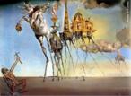 A pintura surrealista de Salvador Dalí está entre as mais extraordinárias obras da pintura moderna. Utilizando figuras religiosas e oníricas, seus quadros causam grande espanto e questionamento. <br/> Palavras-chave: Salvador Dalí, pintura moderna, surrealismo