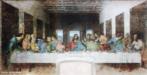 &ldquo;A Última Ceia&rdquo; foi pintada por Leonardo da Vinci entre 1495 e 1497 no refeitório do convento de Santa Maria delle Grazie (Milão). <br/> Palavras-chave: pintura, Renascimento, Última Ceia, Leonardo Da Vinci, Jesus Cristo