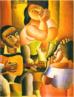 Emiliano Augusto Cavalcanti de Albuquerque e Melo, mais conhecido como Di cavalcanti, foi pintor, caricaturista e ilustrador brasileiro. Nasceu na cidade do Rio de Janeiro, em 6 de setembro de 1897 e faleceu em 26 de outubro de 1976, na mesma cidade. Idealizou e participou da Semana de Arte Moderna de 1922, expondo 11 obras de arte e elaborando a capa do catálogo. Seu estilo artístico é marcado pela influência do expressionismo, cubismo e dos muralistas mexicanos (Diego Rivera, por exemplo). Abordou temas tipicamente brasileiros como, por exemplo, o samba. Em suas obras são comuns também, os temas sociais do Brasil (festas populares, operários, as favelas, protestos sociais, etc). O MAC possui em seu acervo, além de pinturas, uma série de mais de 500 desenhos, que cobrem o período que vai da década de 20 até o ano de 1952: grafites, aquarelas, guaches e nanquins, generosamente doados pelo artista. <br/> Palavras-chave: Di cavalcanti, Arte Moderna, pintor brasileiro, Semana de Arte Moderna, expressionismo, cubismo, temas sociais, MAC, Samba.