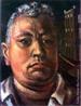 Emiliano Augusto Cavalcanti de Albuquerque e Melo, mais conhecido como Di Cavalcanti, foi pintor, caricaturista e ilustrador brasileiro. Nasceu na cidade do Rio de Janeiro, em 6 de setembro de 1897 e faleceu em 26 de outubro de 1976, na mesma cidade. Idealizou e participou da Semana de Arte Moderna de 1922, expondo 11 obras de arte e elaborando a capa do catálogo. Seu estilo artístico é marcado pela influência do expressionismo, cubismo e dos muralistas mexicanos (Diego Rivera, por exemplo). Abordou temas tipicamente brasileiros como, por exemplo, o samba. Em suas obras são comuns também, os temas sociais do Brasil (festas populares, operários, as favelas, protestos sociais, etc). O MAC possui em seu acervo, além de pinturas, uma série de mais de 500 desenhos, que cobrem o período que vai da década de 20 até o ano de 1952: grafites, aquarelas, guaches e nanquins, generosamente doados pelo artista. O quadro <strog>Autorretrato</strong>, foi pintado em 1943. <br/> Palavras-chave: Di cavalcanti, Arte Moderna, pintor brasileiro, Semana de Arte Moderna, expressionismo, cubismo, temas sociais, MAC, Autorretrato