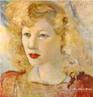 Descrição: Pintura do artista Guido Viaro. A obra é de 1935 e a técnica utilizada é óleo sobre tela, com dimensões de 50 x 40 cm. <br/><br/> Palavras-chave: guido viaro, polaca, pintura