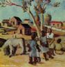 Pintura do Artista Guido Viaro. A obra é de 1948 a técnica utilizada é óleo sobre tela, com dimensões de 58 x 70,5 cm. <br/><br/> Palavras-chave: guido viaro, paisagem, pintura