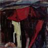 Pintura do Artista Guido Viaro. A obra é de 1960 e a técnica utilizada é óleo sobre papel, com dimensões de 59 x 86 cm.