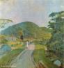 Pintura do Artista Guido Viaro. A obra é de 1940 e a técnica utilizada é óleo sobre tela, com dimensões de 75,5 x 86 cm. <br/><br/> Palavras-chave: guido viaro, Paisagem, pintura