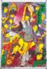 Obra de Makoto Aida que retrata sedutoras garotas colegiais revirando as próprias vísceras em um comentário crítico sobre o tradicional ritual de suicídio associado ao código de honra dos samurais. <br/><br/> Palavras-chave: makoto aida, harakiri school girls, pintura
