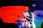 Obra do artista nipobrasileiro Manabu Mabe (1924 - 1997), um dos grandes representantes da arte abstrata no Brasil. <br/><br/> Palavras-chave: manabu mabe, arte abstrata, arte brasileira contemporânea