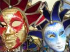 Mais um exemplo de máscara de Veneza. <br/> Palavras-chave: máscara, carnaval, Veneza, Itália