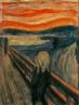 """Edvard Munch (1863-1944). Pintor norueguês, um dos precursores do Expressionismo. Em 1893 pintou """"O Grito"""", sua obra máxima, que retrata a angústia do artista em relação ao amor e à amizade. O quadro se tornou bastante popular, como símbolo do desespero humano."""