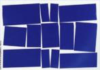 Nas artes plásticas, o concretismo surge como uma evolução do Abstracionismo e não como uma oposição a esse movimento. Depois da 1ª Bienal (1951), os concretistas brasileiros estavam concentrados em dois grupos: o Grupo do Rio de Janeiro (menos rígido quanto às formas geométricas) e o Grupo de São Paulo (mais rígido quanto aos princípios matemáticos da arte concreta e às possibilidades do movimento como efeito ótico de linhas e cores). A Pintura de Helio Oiticica, Metaesquema, 1958, (guache sobre papel), faz parte do Grupo do Rio de Janeiro.