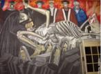 Jose Clemente Orozco (1883-1949). Pintor mexicano que, ao lado de Rivera e Siqueiros, participou do Muralismo mexicano. Dedicou-se também à aquarela, ao desenho e à caricatura, que fazia mais como forma de sustento do que como arte.