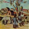 Pintura do Artista Guido Viaro. A obra é de 1948 a técnica utilizada é óleo sobre tela, com dimensões de 58 x 70,5 cm.