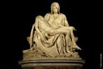 Uma Pietà (italiano para Piedade) é um tema da arte cristã em que é representada a Virgem Maria com o corpo morto de Jesus nos braços, após a crucificação. As primeiras pietà surgiram em finais do século XIII na Alemanha. Na Idade Média a pietà era uma imagem de devoção como o crucifixo. A mais famosa pietà é, seguramente, a Pietà do Vaticano, esculpida em mármore por Michelangelo em 1499. Atualmente esta obra está localizada no interior da Basílica de São Pedro, em Roma.