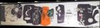 Mural da entrada do Aeroporto Internacional Afonso Pena. Neste trabalho, o artista propõe uma visão panorâmica do mundo, focalizando as grandes atrações dos viajantes, com os seus personagens marcantes ao lado de imagens simbólicas de cada região.