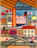 """Tarsila do Amaral (1886-1973) foi uma das mais importantes artistas do Brasil. Após passar dois anos em Paris, retorna a São Paulo em 1922 para integrar o """"Grupo dos Cinco"""", que defende as ideias da Semana de Arte Moderna e toma a frente do Movimento Modernista do país. """"Esta obra é entitulada A GARE. A palavra francesa GARE significa estação de trem ou de metrô. Como um jogo de peças encaixadas, a tela A GARE reúne círculos coloridos, trilhos vagões, chaminés, postes, casas e árvores. Alguns elementos do quadro, como a chaminé e a lâmpada elétrica, por exemplo, sinalizam um ambiente urbano. É a era da máquina, da indústria, que é apresentada por meio da geometria das formas e do colorido festivo dessa estação."""" (slideshare.net)"""