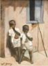 Emmanoel Zamor nasceu em Salvador, mas foi criado nas Europa pelos franceses Pierre Emmanuel Zamor e Rose Neveu, seus pais adotivos. Estudou música e desenho na Europa. Foi pintor e cenógrafo. Frequentou a Academie Julian, em Paris, anos antes de Tarsila do Amaral. Voltou ao Brasil entre 1860 e 1862, quando parte de suas obras foi destruída em um incêndio no Brasil.