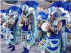 A bateria é uma ala fundamental da escola de samba. É ela quem dá o ritmo para a evolução no desfile.