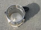Cuíca é um instrumento musical membranofone de fricção, espécie de tambor, com uma haste de madeira presa no centro da membrana de couro, pelo lado interno.