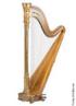 A harpa é um instrumento de corda muito antigo e que emite um som inebriante.
