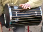 Instrumento musical de percussão.